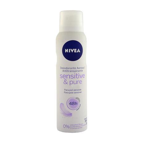 nivea pure sensitive deodorant