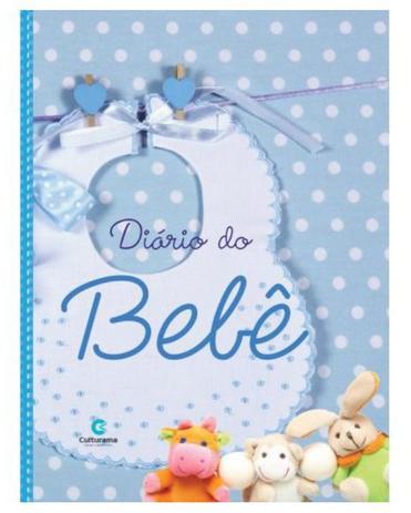 Imagem de Diário álbum bebê fotos e anotações para meninos