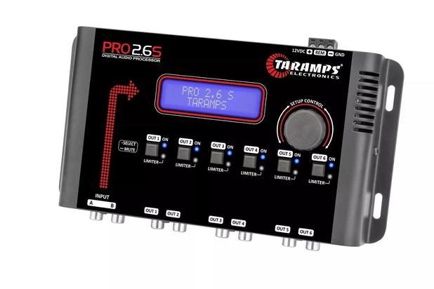 Imagem de Digital Audio Processador Taramps Pro 2.6s Equalizador