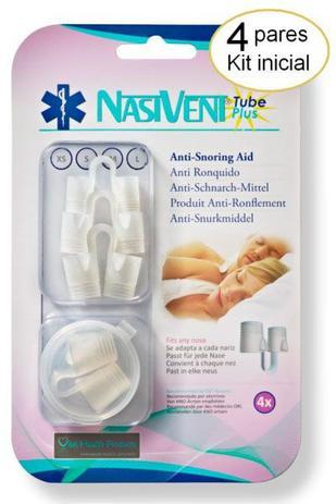c33d1c4e7554 Dilatador Nasal Nasivent Tube Plus Kit Inicial - Anti Ronco ...