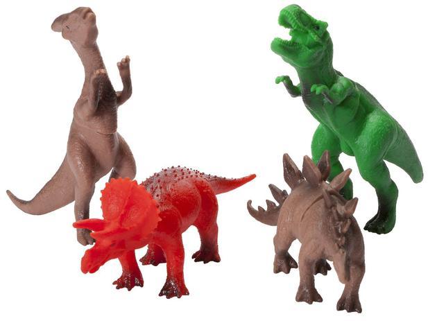 Dinossauro Amigo 4 Pecas - Super Toys