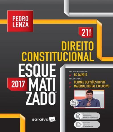 Imagem de Direito Constitucional - Esquematizado - 21 Ed - Saraiva