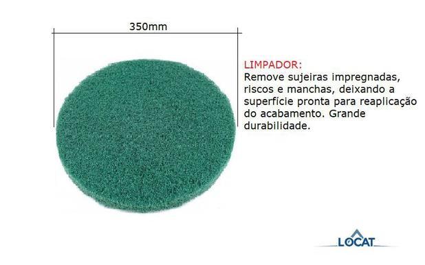 Imagem de Disco para Enceradeira Verde 350mm