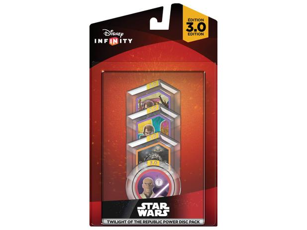 Disney Infinity PS3/PS4/Xbox One e 360 4 Discos - Twilight of the Republic - Power Disc Set