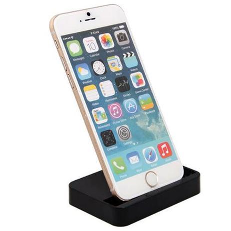 Imagem de Dock Station Base Carregador Mesa Iphone 6 e 6S 6s Plus preto
