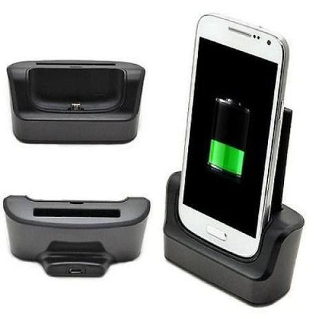 Imagem de Dock Station Com Slot Para Bateria Extra P/ Galaxy S4 I9500 I9505