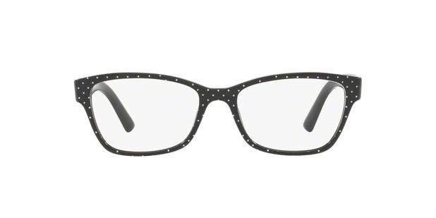 Dolce Gabbana DG3274 3126 Preto Pois Branco Lente Tam 52 - Óculos de ... 7c59e3365f