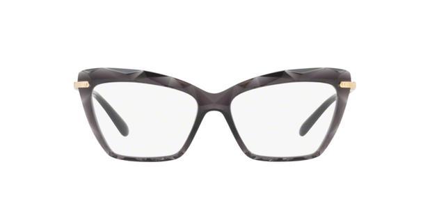 7e16f1460f9cb Dolce Gabbana DG5025 504 Cinza Transparente Lente Tam 53 - Óculos de ...