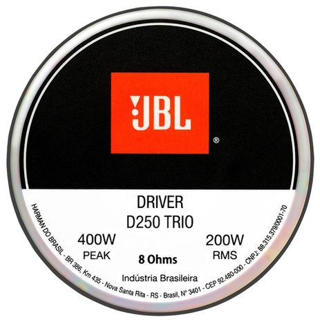 Imagem de Driver De Corneta Original Jbl D250 Trio - 200w Rms - 8 Ohms