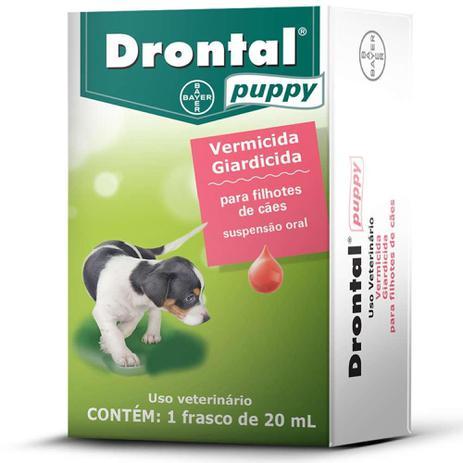 Imagem de DRONTAL PUPPY- para Cães Filhotes frasco com 20ml - Bayer
