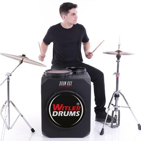Imagem de Drum Box Set Para Canhoto  Witler Drums  Bateria Cajón