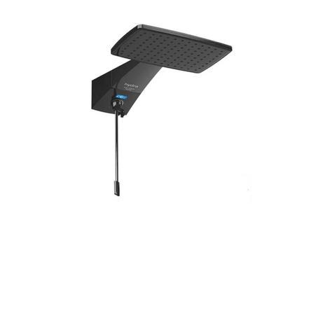 Imagem de Ducha Digital Polo Hybrid Black 7700w 220v Hydra Dppo.dhb.772pt