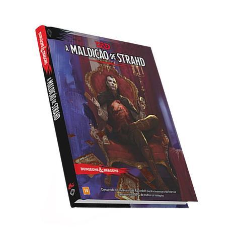 Imagem de Dungeons & Dragons A Maldição de Strahd Livro Do Mestre Galápagos DND005