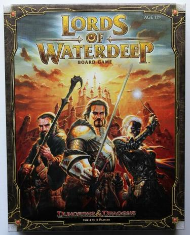 Dungeons Dragons Lords Of Waterdeep - Boardgame - Wizards of the coast