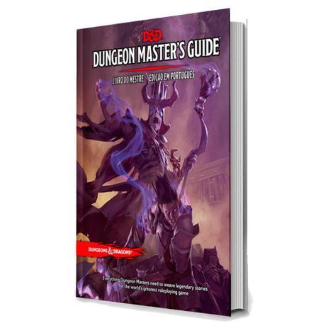 Imagem de Dungeons & Dragons Masters Guide Livro Do Mestre Galápagos DND003