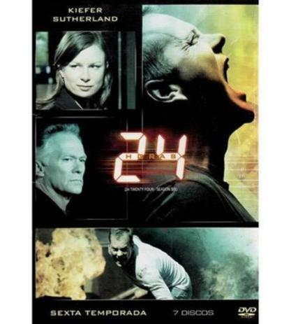 Imagem de DVD - 24 Horas 6ª Temporada - 6 Discos