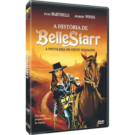 Imagem de DVD A Historia de BelleStarr - A Pistoleira do Oeste Selvage