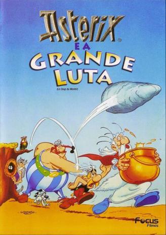 DVD Asterix e a Grande Luta - Rimo - Filmes de Animação