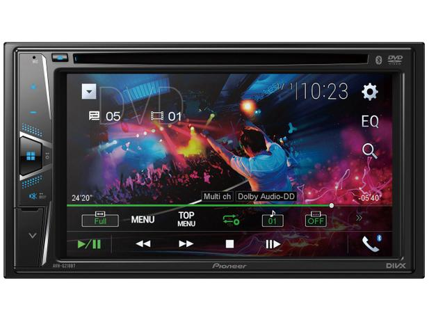 Imagem de DVD Automotivo Pioneer AVH-G218BT com Bluetooth