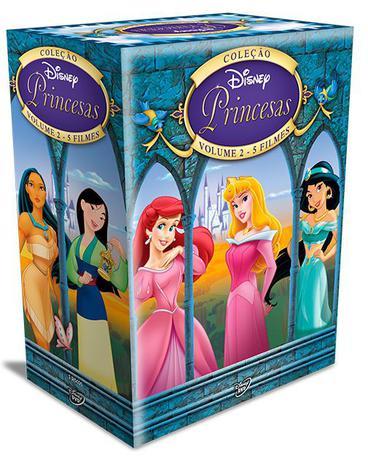 Imagem de DVD Box - Coleção Princesas - Vol. 2