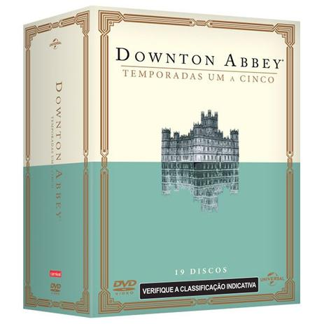 Imagem de DVD Box Downton Abbey - 1ª A 5ª Temporada - 19 Discos