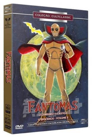 Imagem de DVD BOX Fantomas - O Guerreiro Da Justiça - Vol. 3