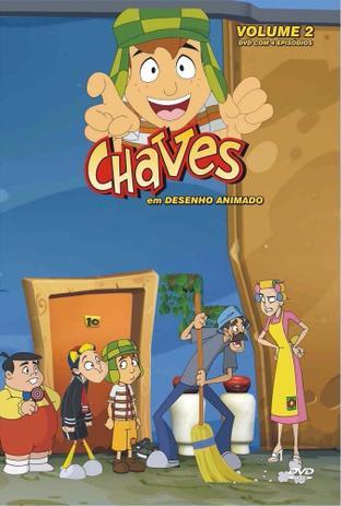 Dvd Chaves Em Desenho Animado Volume 2 Diamond Minisserie E