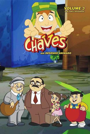 Dvd Chaves Em Desenho Animado Volume 3 Diamond Filmes De