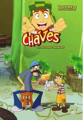 Dvd Chaves Em Desenho Animado Volume 4 Diamond Filmes De