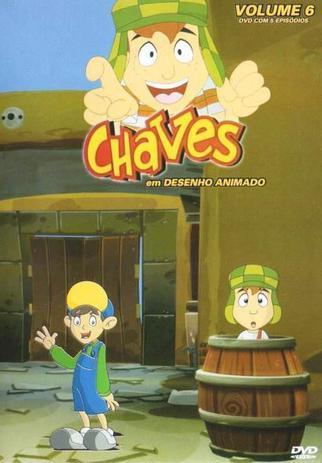 Dvd Chaves Em Desenho Animado Volume 5 Diamond Filmes De