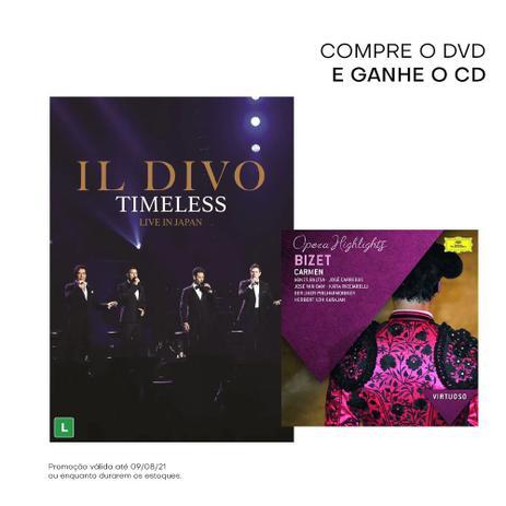 Imagem de DVD Il Divo - Timeless Live In Japan
