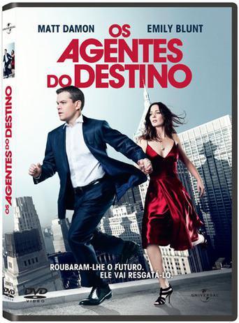 DVD - Os Agentes do Destino - Universal Studios - Filmes de Ficção ...