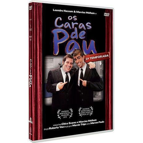 Imagem de DVD Os Caras de Pau Temporada 2 Leandro Hassum