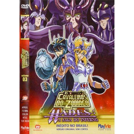 Imagem de Dvd Os Cavaleiros Do Zodíaco: Hades A Saga Do Inferno Vol. 3