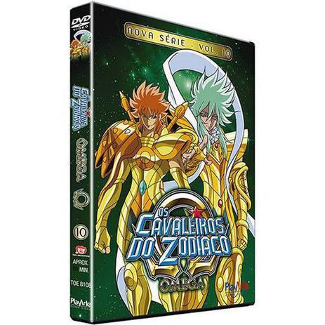 Imagem de Dvd  Os Cavaleiros do Zodíaco  Ômega  Nova Série  Volume 10