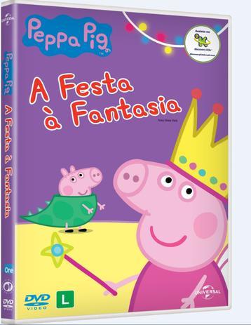 DVD Peppa Pig - A Festa À Fantasia - 953148