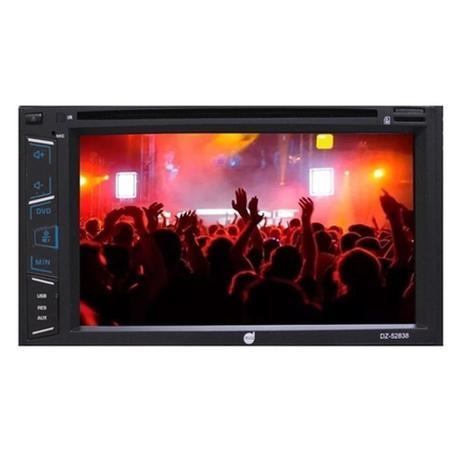 Imagem de Dvd Player Automotivo Dazz 6.2'' Bluetooth Mirror Android DZ-52838BT