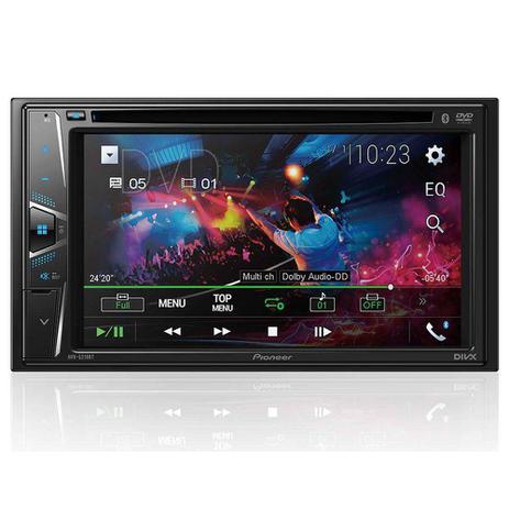 Imagem de DVD Player Automotivo Pioneer 2 Din AVH-G218BT - Tela 6.2' - USB, Aux e Bluetooth