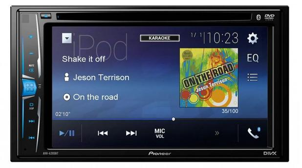 Imagem de DVD Player Automotivo Pioneer AVH-205BT 6.2