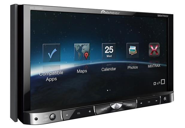 Imagem de DVD Player Automotivo Pioneer AVH-X8550BT TV 7