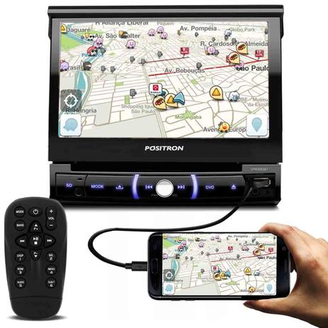Imagem de DVD Player Automotivo Pósitron SP6330BT 1 Din 7