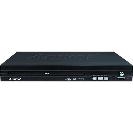 Imagem de DVD Player com Conexão USB e Função Ripping Amvox AMD 290 Preto