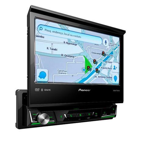 DVD Player Pioneer AVH-Z7180TV 7 Pols  - Bluetooth TV Digital Mixtrax Waze  Spotify