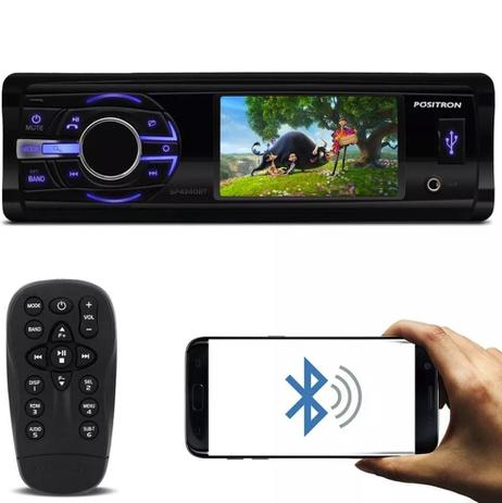 Dvd Player Positron Sp4340bt Bluetooth Usb Sd Viva Voz