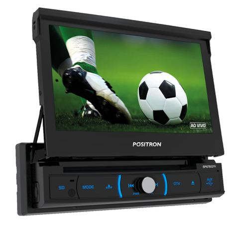 Imagem de Dvd player Positron Sp6730 Dtv Retratil Tv Digital Usb Espelhamento
