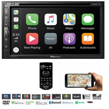 Dvd Player Usb Pioneer Avh-z5280tv Bluetooth Tv Waze 2019