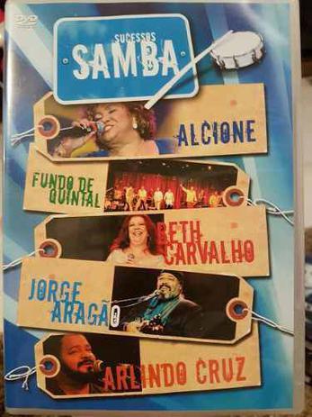 Imagem de DVD Sucessos Samba