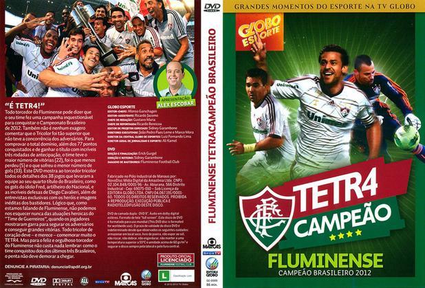 Imagem de DVD Tetra Campeão Fluminense