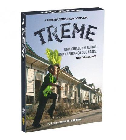 Imagem de DVD Treme - 1ª Temporada - 4 Discos