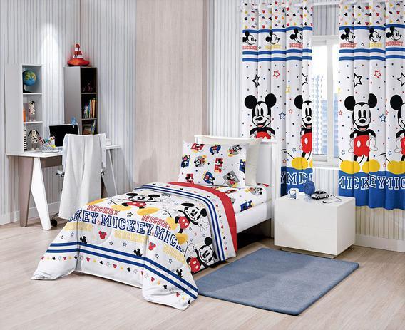 bd3c3a9125 Edredom Infantil - Mickey Play - Misto - Santista - Edredom ...